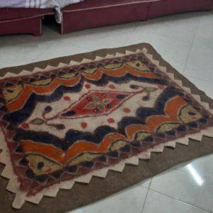 فرش نمدی پشمی