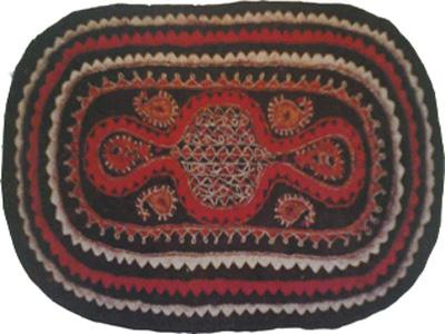 نمد سنتی ترکمن