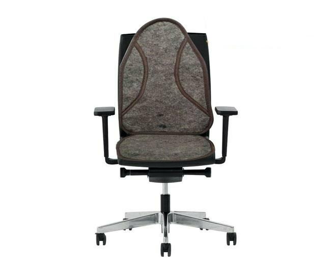 عرق گیر نمدی صندلی دو تکه