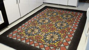 نمد فرش صادراتی شیک